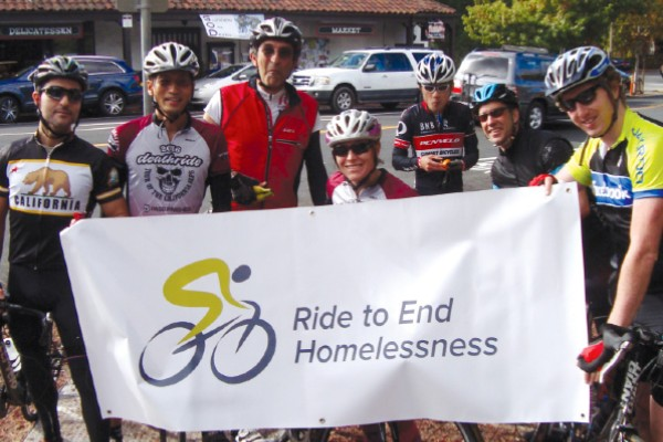 Ride to end homelessness